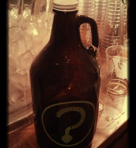 Giving Thanks for the Beer Growler