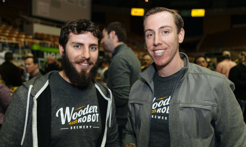 Wooden Robot Brewery is grooving