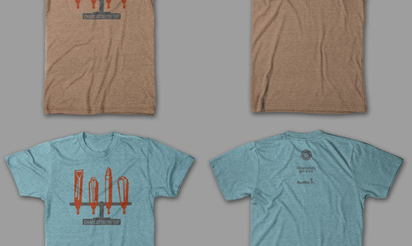 Charlotte On Tap T-shirt Unveiled