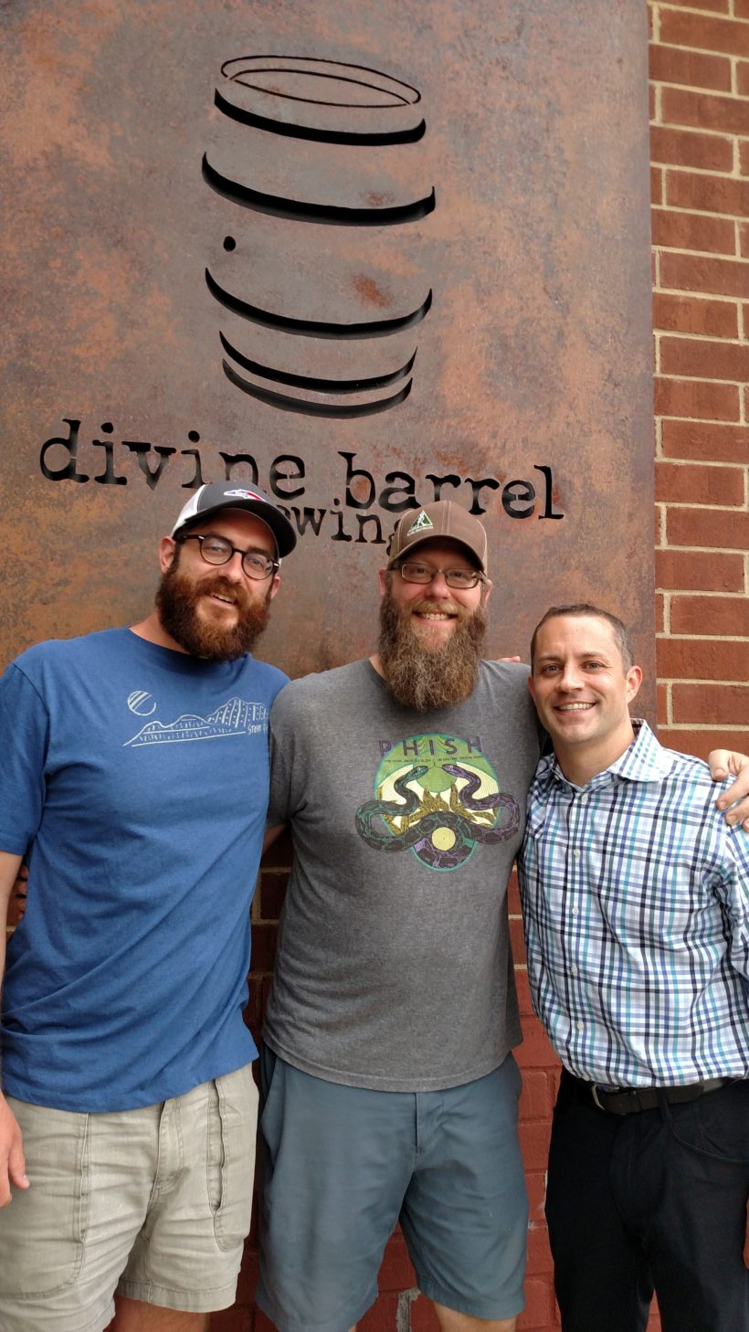 Knocking on Wood with North NoDa's Divine Barrel Brewing