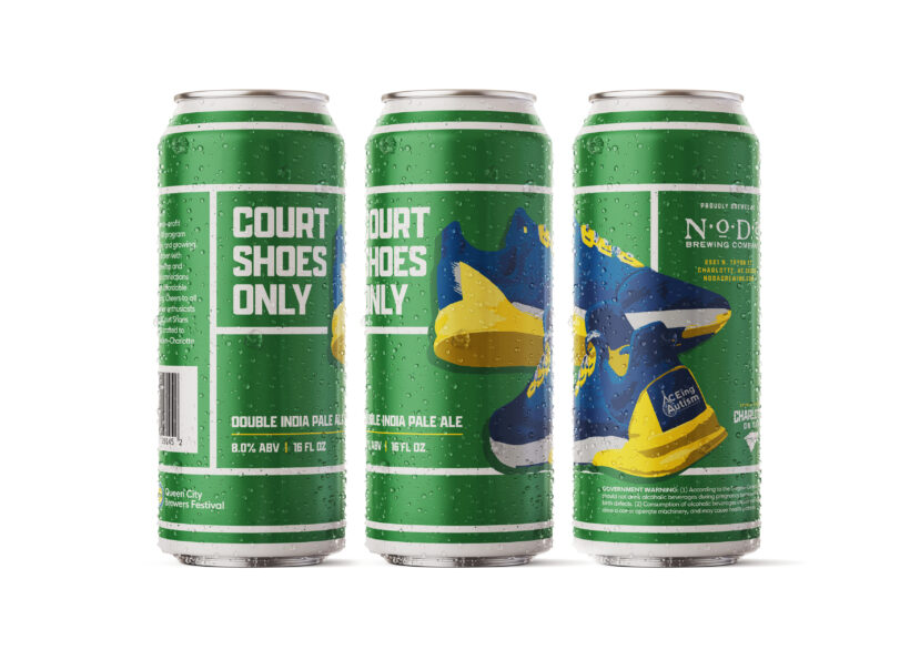 "Introducing ""Court Shoes Only"" Double IPA"